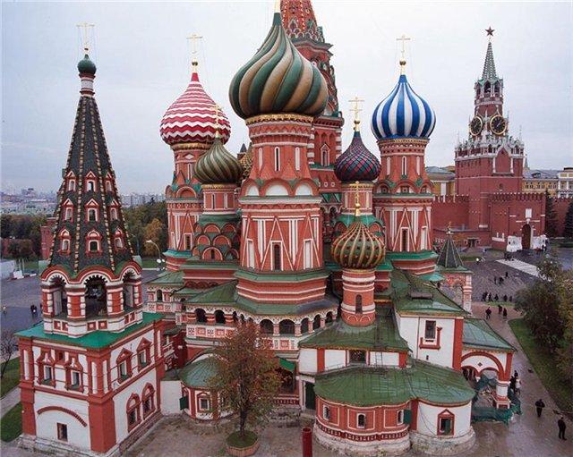 собор Василия Блаженного в городе Москве